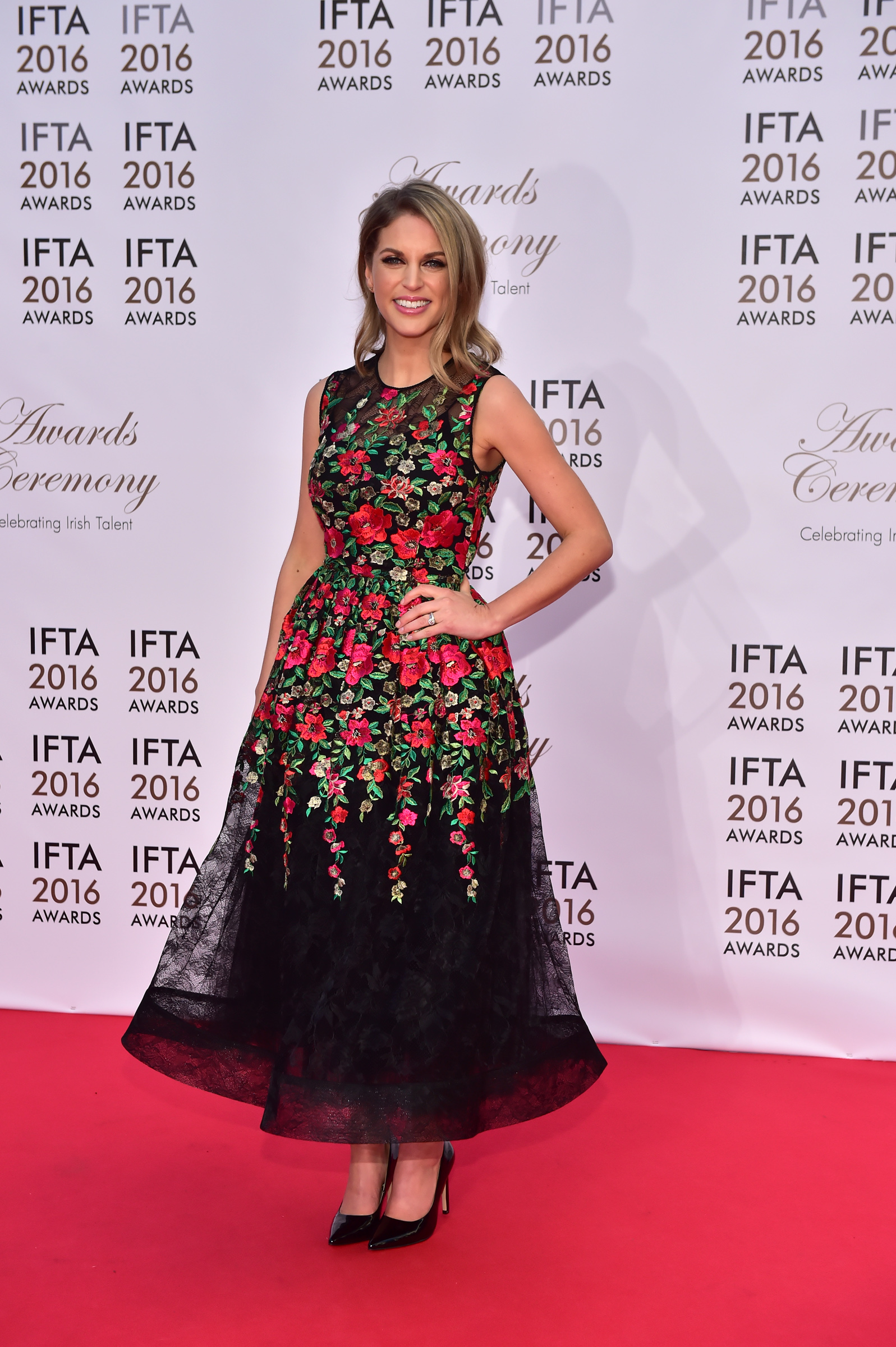 Actress Amy Huberman